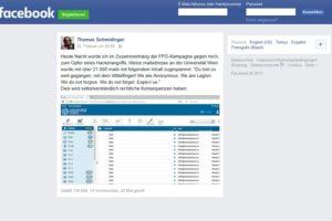 Facebook-Posting löst Spam-Welle aus