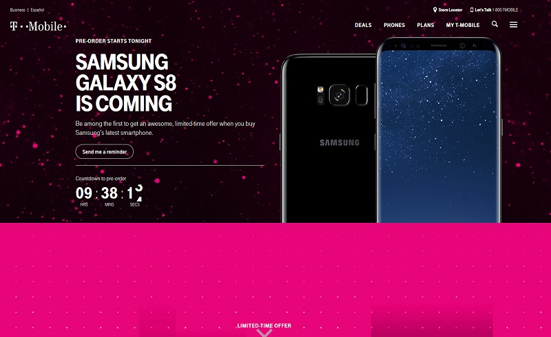 T-Mobile US: Schluss mit Spamanrufen (Screenshot: .t-mobile.com)