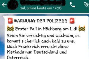 WhatsApp und Facebook: WARNUNG DER POLIZEI!!! ist ein Fake!