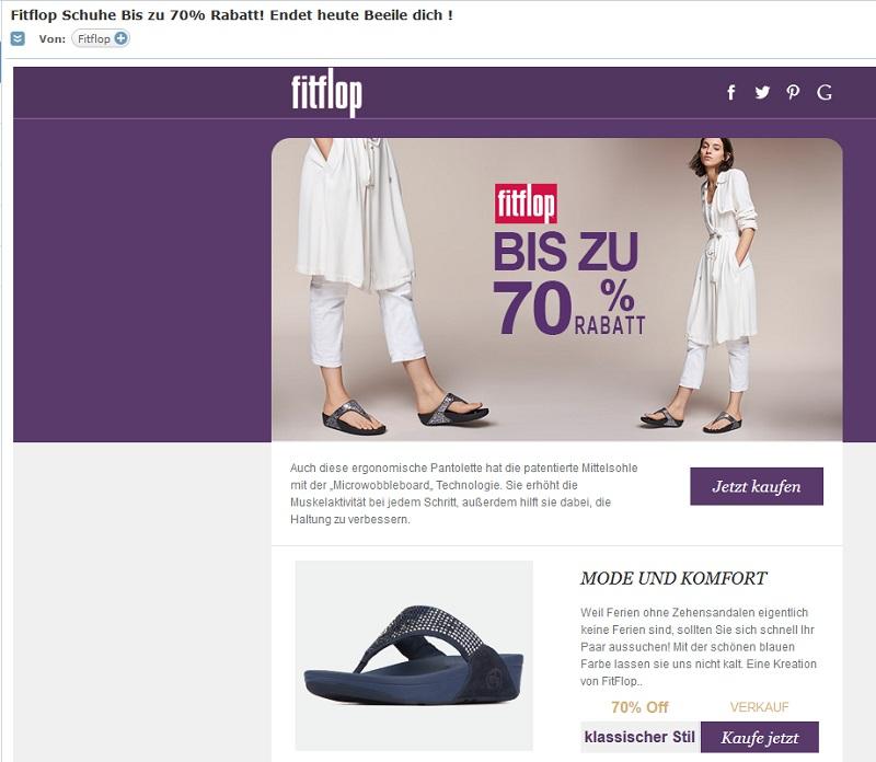 Fake Shop: Anti Spam Info