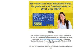 """Ikea-Gutschein-Gewinnspiel: """"Wir verbessern Dein Einkaufserlebnis"""""""