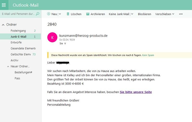 Job-Spam