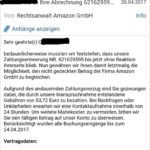 Amazon-Inkasso-Drohung ist ein Virus!