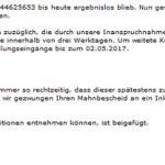 Inkasso-Drohung von OnlinePayment GmbH: Virus im Anhang!
