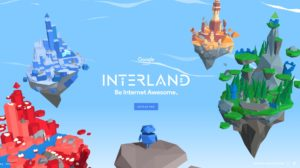 Googles Interland (Screenshot: beinternetawesome.withgoogle.com/interland)