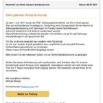 Amazon-Phishing: PSD Zahlungsdienstrichtlinie der EU