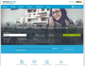 Die echte Immonet-Seite (Screenshot: Immonet.de)