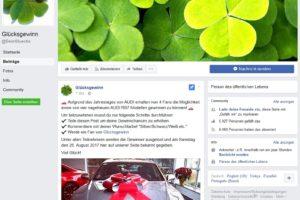 AUDI RS7-Gewinnspiel: Glücksgewinn ist Facebook-Fake