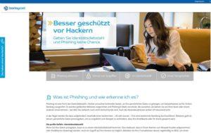 Barclaycard-Phishing: Barclaycard.de warnt (Screenshot: Barclaycard.de)