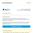 """PayPal-Phishing: """"Aufgrund einer EU-Gesetzesregelung"""""""