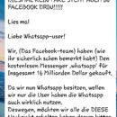 """WhatsApp-Spam: """"Wir haben zu viele Nutzer auf WhatsApp"""""""
