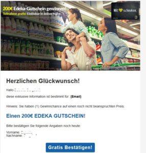 200€-Edeka-Gutschein: Yey or Nay? (Screenshot)