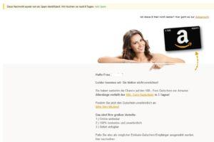Ihr Amazon-Gutschein wartet auf Sie
