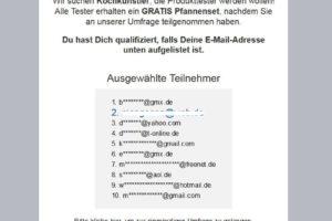 Achtung, Datensammler: WMF Pfannenset für Umfrage