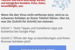 Google-Warnung ist Adware