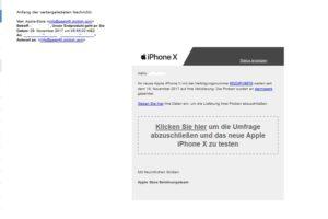 Dieses Apple-iPhone-X-Gewinnspiel ist ein Fake!
