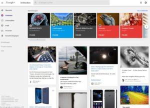 Google+ kämpft gegen Spam (Screenshot plus.google.com)