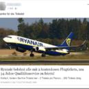 Achtung, Ryanair-Gewinnspiel ist ein fieser Fake!
