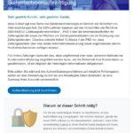 Achtung, Fake: PayPal-Sicherheitsbenachrichtigung