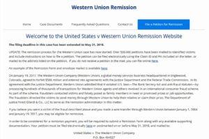 Meldefrist verlängert: Western Union entschädigt Betrugsopfer