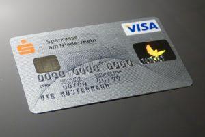 auffällige Aktivitäten mit Sparkasse-Kreditkarte – Achtung, Fake!