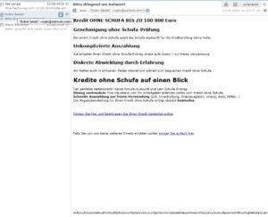 Kredit OHNE SCHUFA BIS ZU 100 000 Euro