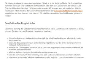 VR-Phishing: Sicherheits-App ist nicht installiert?!