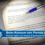 Porno-Erpressung: 500 Euro in Bochum verlangt