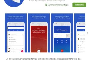 Google-Telefon-App jetzt mit Spam-Filter