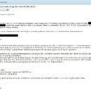 Virus-Mahnung der Rechtsanwaltskanzlei Dr. Koch und Jung AG