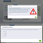 Achtung, Phishing: Pop-Up-Fenster im Online-Banking-Portal