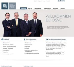 Betrug mit dem Namen der Rechtsanwaltskanzlei Delgado Schwarzmann Vila Clavero Abogados & Asociados (Screenshot: delgado-vila.com)