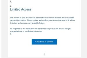 """Achtung, PayPal-Phishing: """"PayPal Suspended Activity"""""""