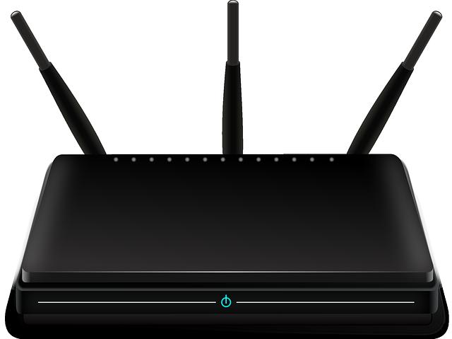 Router-Angriffe bald auch in Deutschland? (OpenClipart-Vectors/pixabay)