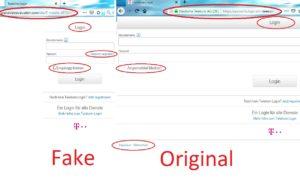 Fake und Original