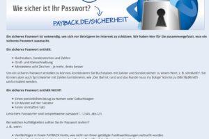Payback-Phishing: PAYBACK SICHERHEITSUPDATE