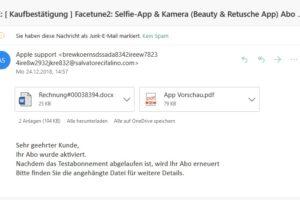 Fake-Kaufbestätigung: Achtung, Apple-Phishing!