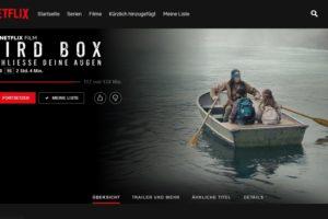 Bird Box Challenge: Selbst Netflix warnt jetzt!