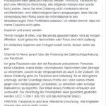 """Facebook-Hoax: """"Ein Anwalt hat uns empfohlen, dies zu posten."""""""