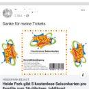 Heide Park Gewinnspiel: Achtung, Saisonkarten sind ein Fake!