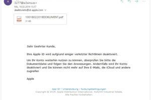Kreatives Apple-Phishing: Verstöße gegen die Richtlinien