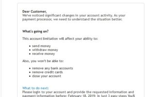 "PayPal-Phishing: ""Re: Review's transaction's payment…"""