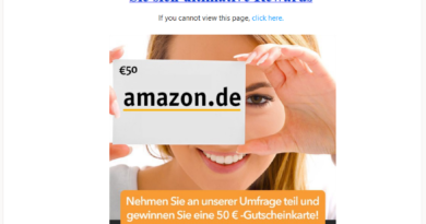 Amazon Rewards Connector: Datensammler (Screenshot)