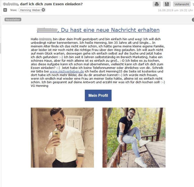 Ihr dating-online-spam