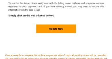 Amazon-Fake (Screenshot)