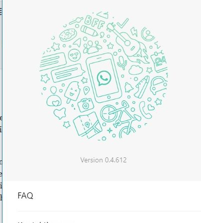 WhatsApp-Sicherheitslücke: Desktop-App (Screenshot)
