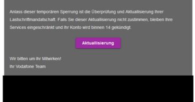 Vodafone-Phishing (Foto: verbraucherzentrale.nrw)