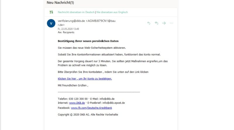 dbk-Phishing (Screenshot)