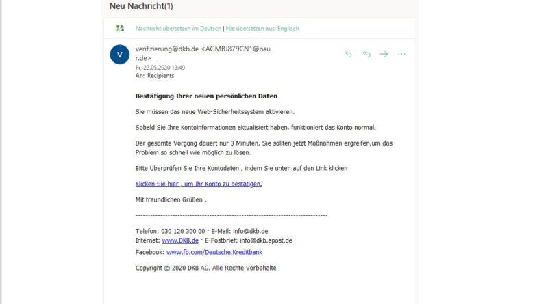 dbk-Phishing (Screenshot)