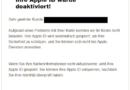 """Vorsicht, Phishing! Apple Pay: """"Kontostatus [Deaktiviert]"""" (Screenshot: verbraucherzentrale.nrw)"""